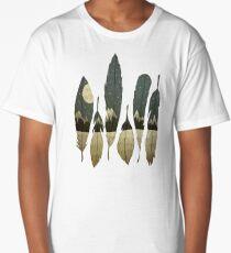 The Birds of Winter Long T-Shirt