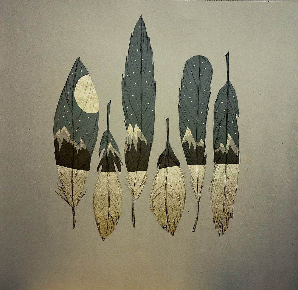 The Birds of Winter by Maia Walczak