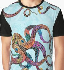 Electric Octopus Graphic T-Shirt