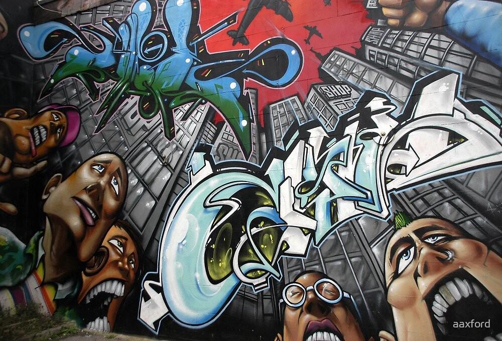 Street Art - Brighton by aaxford