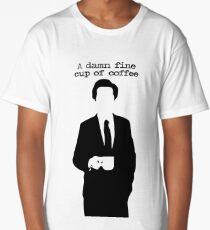 A damn fine cup of coffee Long T-Shirt