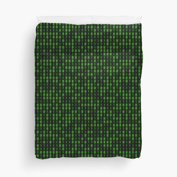 Binary Code Inside Duvet Cover