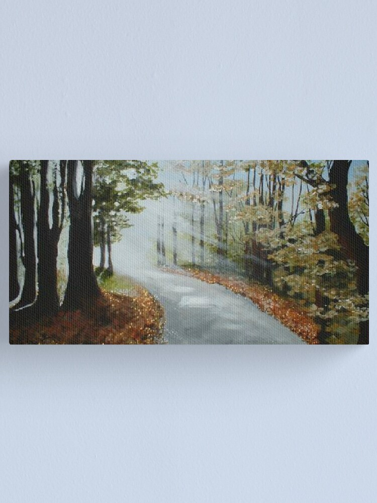 Alternate view of Forest Path Canvas Print