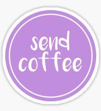 Send Coffee Sticker