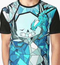 NO - Undertale Stained Glass Graphic T-Shirt