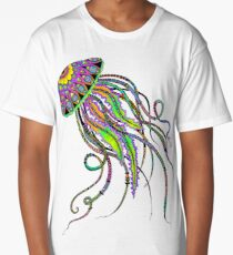 Electric Jellyfish Long T-Shirt