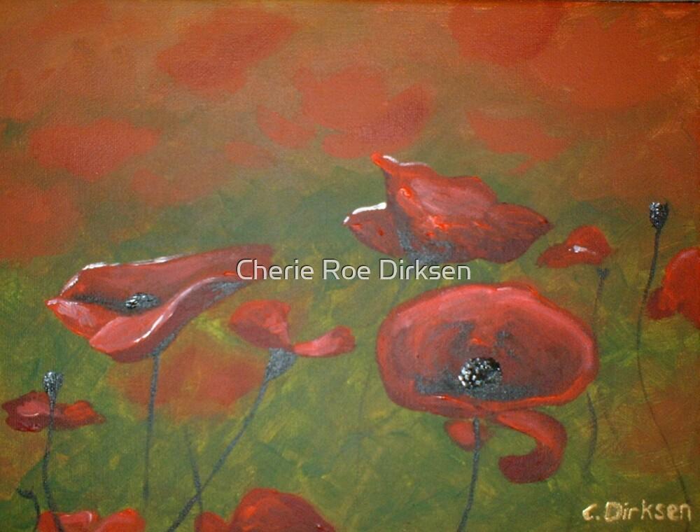 Poppy Field by Cherie Roe Dirksen