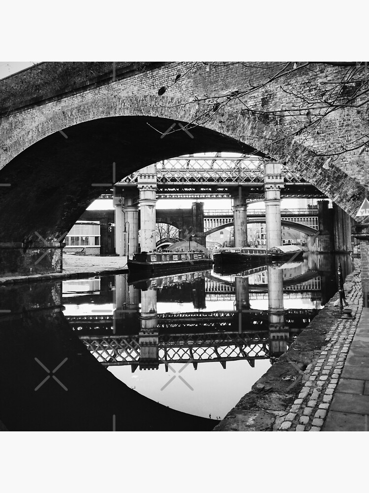Bridges of Castlefield in black and white by jameschaos
