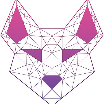 "Geometric Canine - ""Dream"" by GeometricFR"