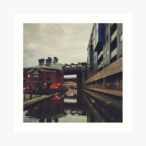 Castlefield, Manchester Art Print