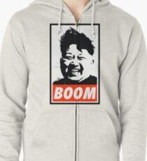 Kim Jong Un BOOM Zipped Hoodie