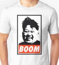 Camiseta unisex Kim Jong Un BOOM