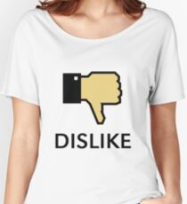 Dislike (Thumb Down) Women's Relaxed Fit T-Shirt