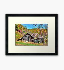 Rural Barn Framed Print