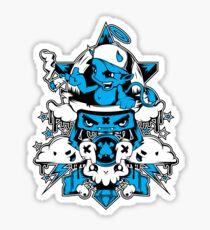 Smokey Devil Sticker