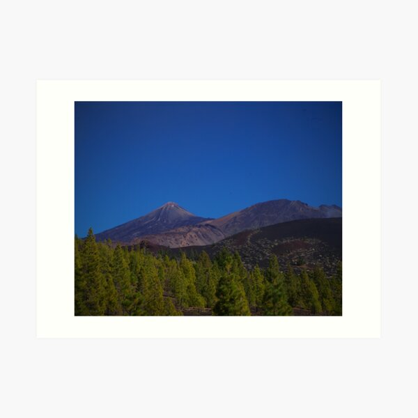 Teide volcano on Tenerife island Art Print