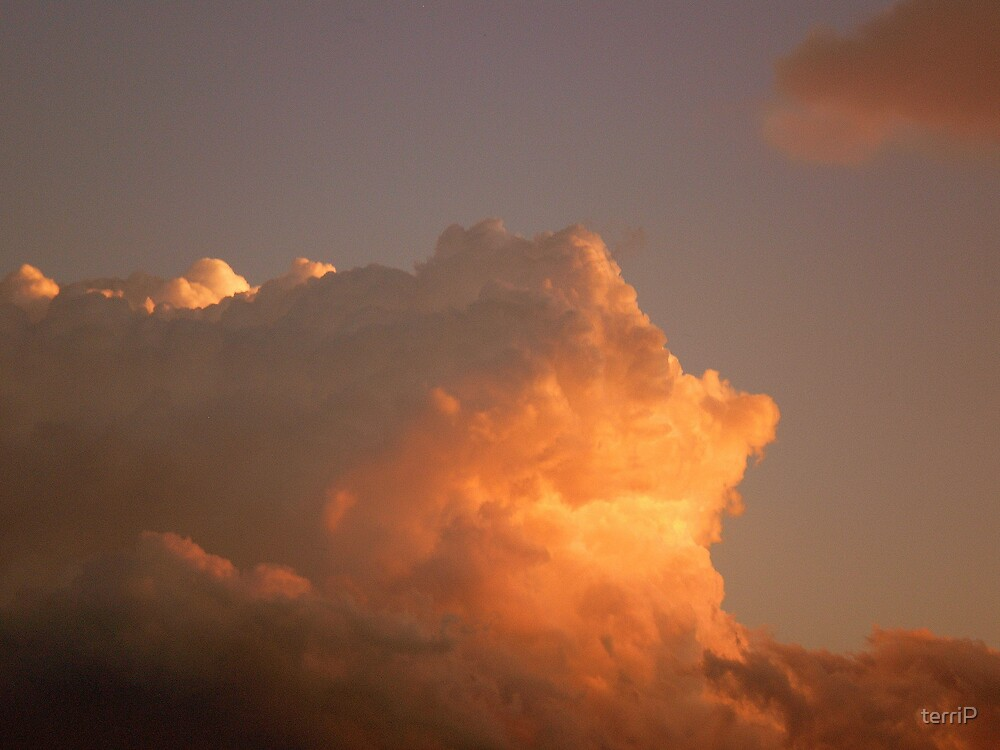 Afternoon storm clouds by terriP