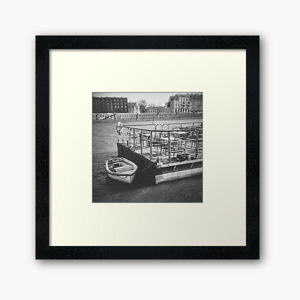 Vistula B&W Framed Art Print