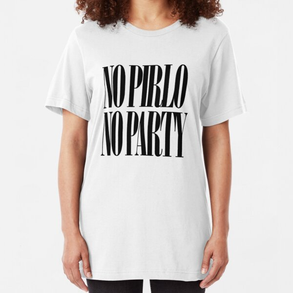 No Pirlo No Party Slim Fit T-Shirt