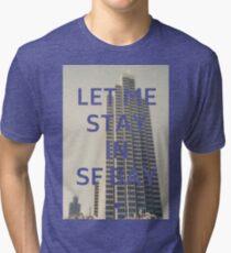 San Francisco (Let Me Stay in SF Bay) Tri-blend T-Shirt