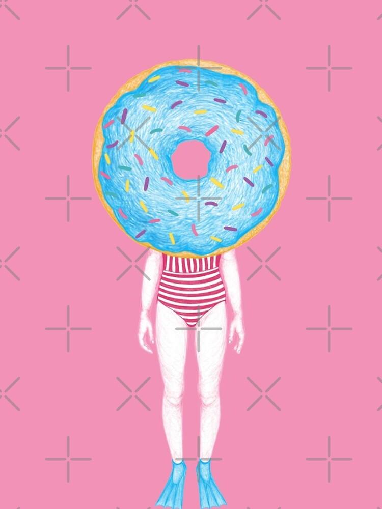 The Summer Treats : Blue Doughnut by Ranggasme