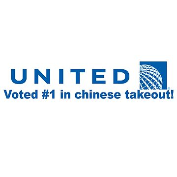 United Airlines Chinese Takeout de saturn007