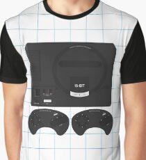 Megadrive single (white) Graphic T-Shirt