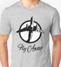 Fly Away - Plane Unisex T-Shirt