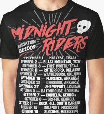 Midnight Riders - No Salvation Tour Graphic T-Shirt