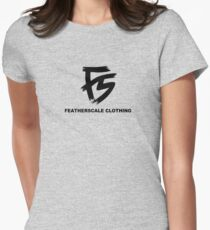 Featherscale FS Logo black Women's Fitted T-Shirt