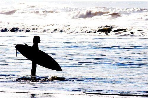 Surfer Kid by JeanSchwarz