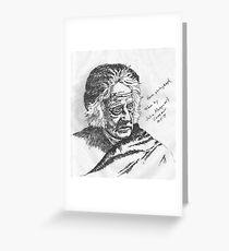 John Frederick William Herschel Greeting Card
