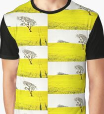 Rapeseed Tree Graphic T-Shirt