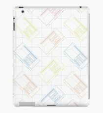 Master System Outline (white) iPad Case/Skin