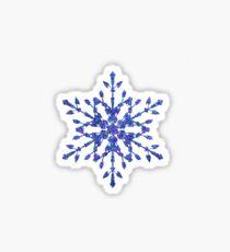 Frozen Snowflake Sticker