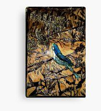 Ying Bird - Woodcut Canvas Print