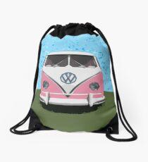 VW Kombi Van, The LOVE BUGger Drawstring Bag