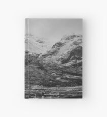 Buachaille Etive Mhor and Lagangargbh Cottage, Glencoe Hardcover Journal