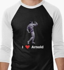 I Love Arnold Men's Baseball ¾ T-Shirt