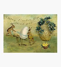 May Easter Joy Attend You Photographic Print