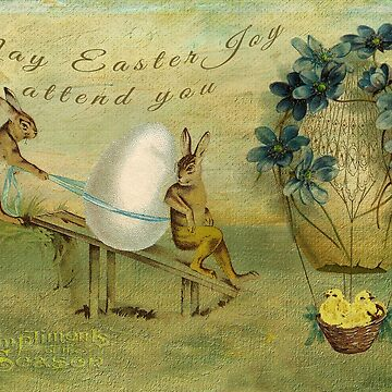 May Easter Joy Attend You by tillymagoo