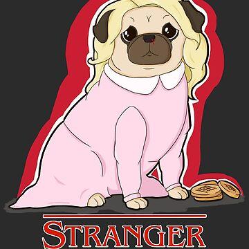 Stranger Pugs - Eleven by jennisney