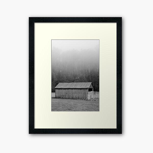 Barney Fog Framed Art Print