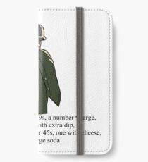 Big Smoke iPhone Wallet/Case/Skin