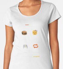 Eat Sleep Game Repeat Women's Premium T-Shirt