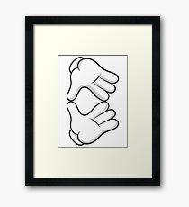 Good Gloves • Gem Framed Print