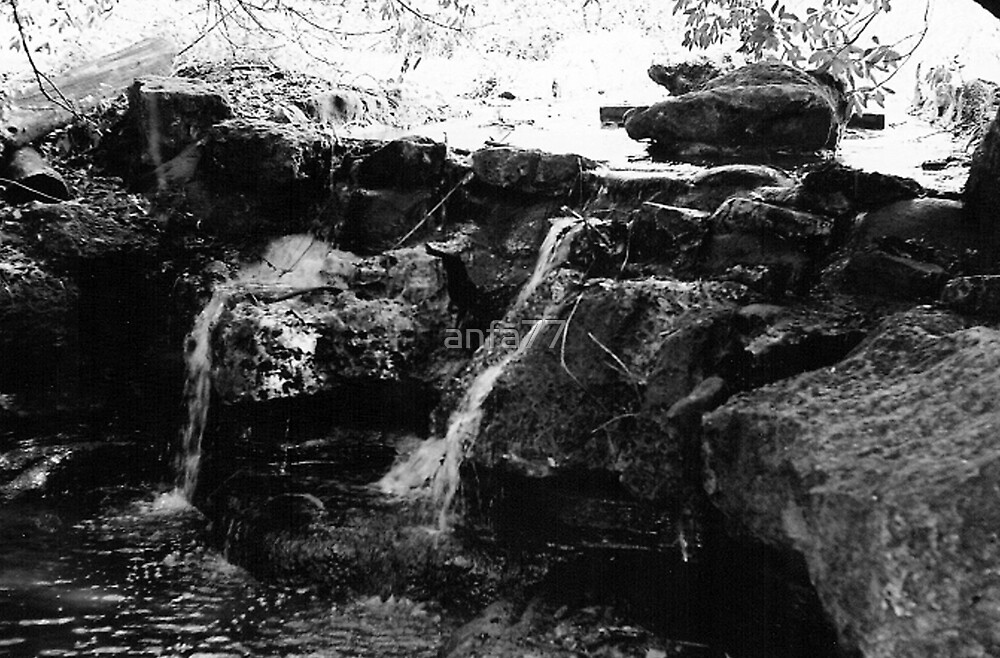 small waterfall by anfa77
