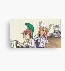 Dragon Maid Canvas Print