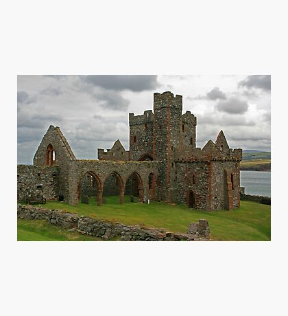 Peel Castle Photographic Print