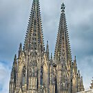 The Spires of St. Stephen in Wien by Imagery